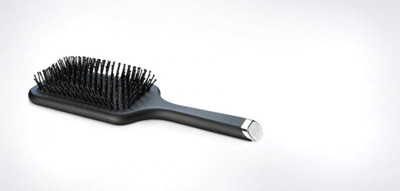 GHD PINK PADDLE BRUSH AND CLASSIC PADDLE BRUSH